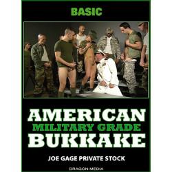 American Bukkake - Military Grade DVD (Joe Gage) (13900D)