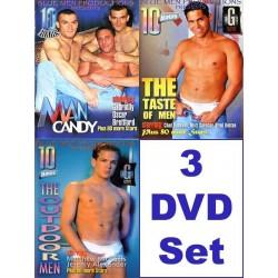 Blue Men 30 h Pack #3 3-DVD-Set