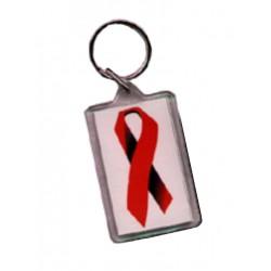 Red Ribbon Key Ring (T5140)