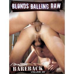 Bareback Classics 20: Blonds Balling Raw DVD (10981D)
