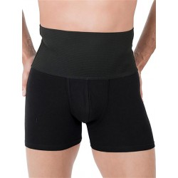 Rounderbum Slim Fit Boxer Brief Underwear Black (T5368)