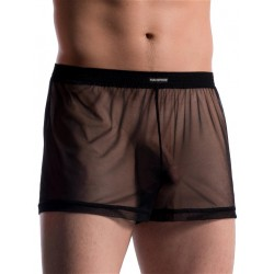 Manstore Boxer Shorts M714 Underwear Black (T5529)