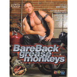 BareBack Grease Monkeys DVD (15748D)