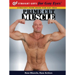 Prime Cut Muscle DVD (Straight Guys for Gay Eyes) (12072D)