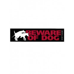 Sportfucker Sticker Long - Beware Of Dog (T5096)