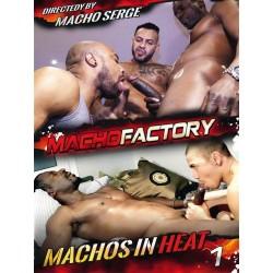 Machos In Heat #1 (Macho Factory) DVD (15833D)